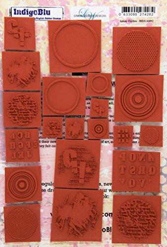 IndigoBlu Limor Circles Cling Mounted Stamp