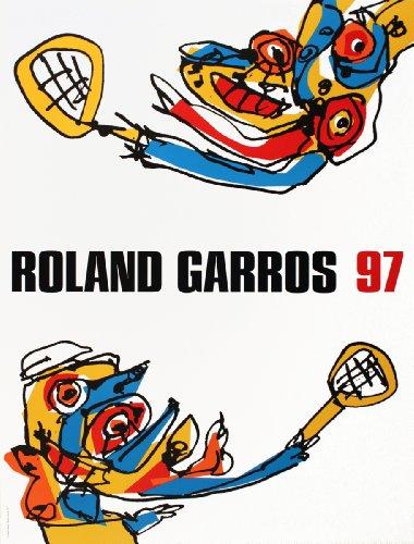 - Antonio Saura-Roland Garros-1997 Poster