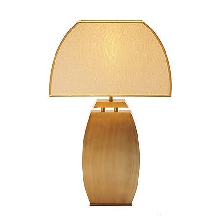 CRYGD lámpara de Escritorio lámpara de Mesa Tradicional/clásica ...