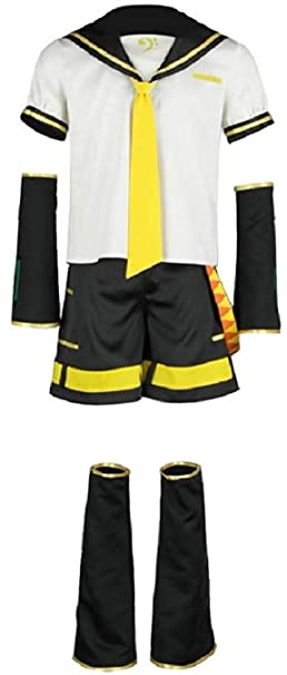 Amazon.com: NSOKing Vocaloid Cosplay Kagamine Len Disfraz ...