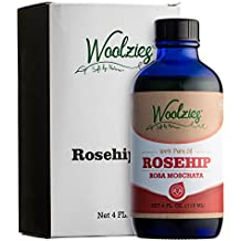 Woolzies 100% Pure Natural Rosehip Essential Oil 4oz, Skin and Hair Moisturizer