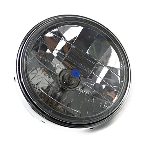 AHL Headlight Chrome Halogen Lamp for Honda CB400 CB500 CB1300 VTEC400 VTR250 CB250 Hornet 250 600 900 Round Head Light