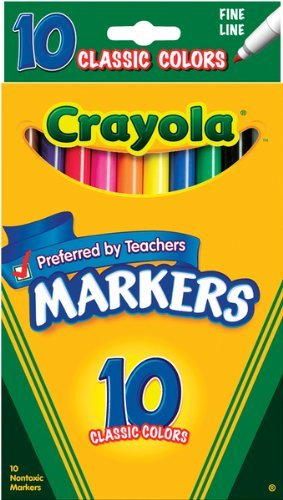 Crayola Classic Colors Markers Total