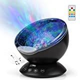 Best ocean wave sound machine - GoLine Ocean Wave Projector Lamp with Built-in Music Review