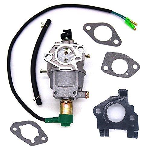 (Aquiver Auto Parts New Generator Carburetor for Harbor Freight Predator Generator 420CC 13HP 69671 68530 68525 8750W with Air Intake Gaskets)