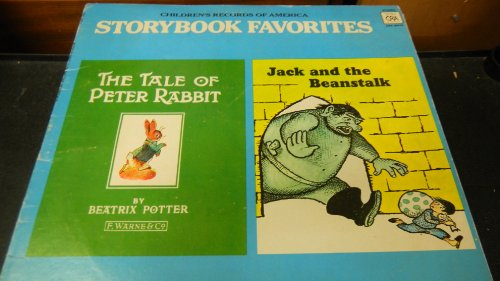 Price comparison product image Childrens Records of America Storybook Favorites the Tale of Peter Rabbit and Jack and the Beanstalk