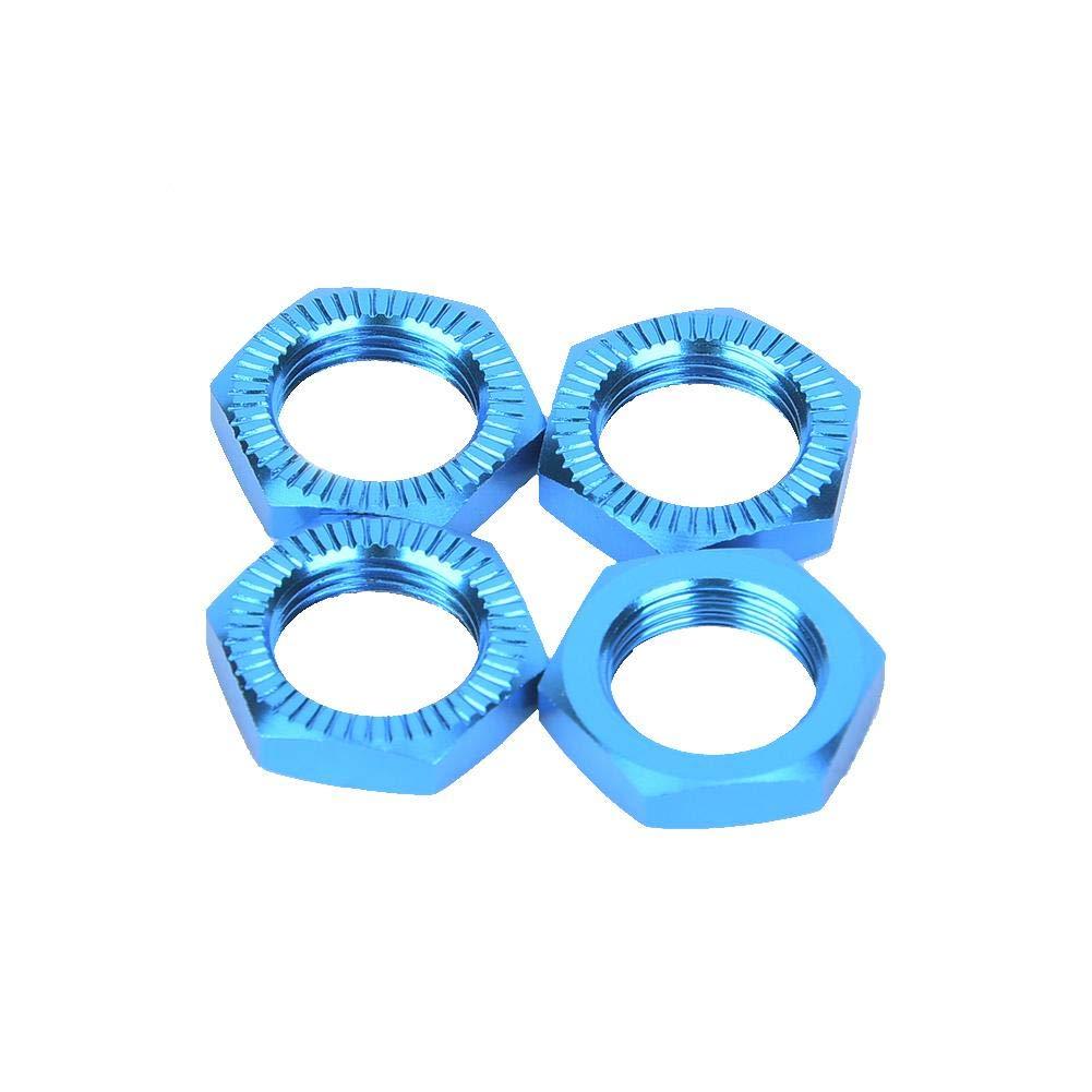 Dadi Ruota in Lega di Alluminio 17 mm Chiave per Accessori Auto RC VGEBY Dadi Ruota 4 Pezzi M12