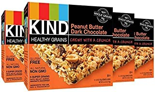 product image for KIND Healthy Grains Bars - Peanut Butter Dark Chocolate - 1.2 oz - 5 ct - 4 pk
