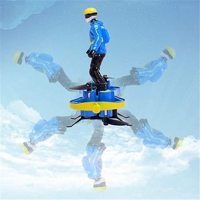 Rabusion Multifunción F5 monopatín paracaídas Postura Drone ...