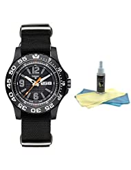 Traser P6600.41F.OS.01 Mens Black Dial Sports Watch with 30ml Watch Cleaning Kit