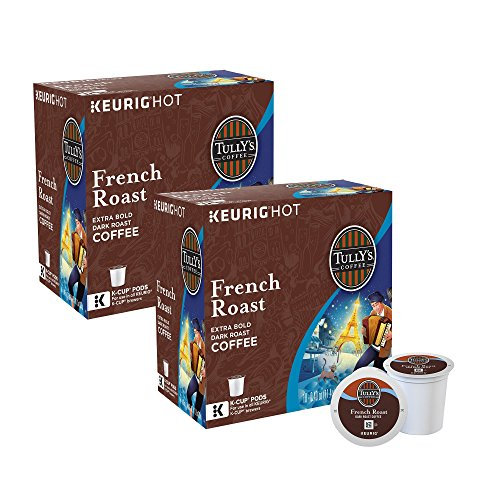 Tully's French Roast Decaf Coffee 180 K-Cup Pods by Tully's Coffee