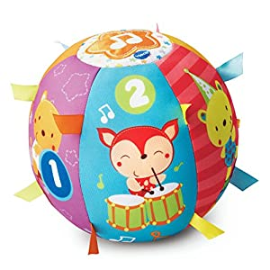 VTech Baby Lil' Critters Roll and Discover Ball - 51TJ7YujchL - VTech Lil' Critters Roll & Discover Ball