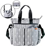 Diaper Bag for Baby By Zohzo - Diaper Tote Bag With Changing Pad