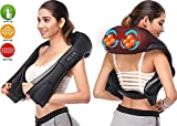 Shiatsu Master Neck & Shoulder Massager with Heat by Relax 'n Care MS-1702 (Shoulder Massager)