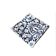 Sitong Men's flowers printed suit pocket square handkerchiefs