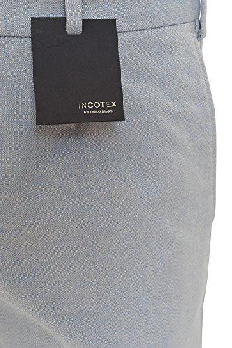 Incotex Pantalon Homme 48 Bleu clair / Short Taille normale Coupe droite