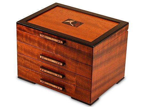 Heartwood Creations Gingko Leaves Jewelry Box - 3 ()