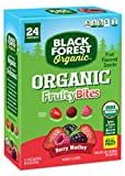 gummy fruit candy - Black Forest Organic Berry Medley Fruit Snacks, Assorted Flavors, 0.8 Ounce Bag, 24 Count