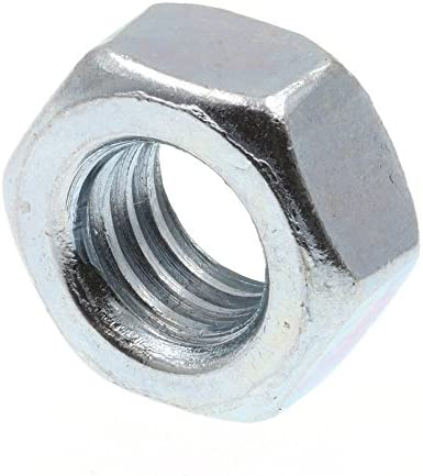 Prime-Line 9087834 Finished Hex Nuts, Class 8 Metric, M6-1.0, Zinc Plated Steel, 25-Pack