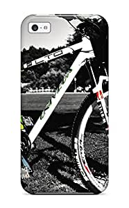 Tpu Case Cover For ipod touch4 Strong Protect Case - Bicycle Design