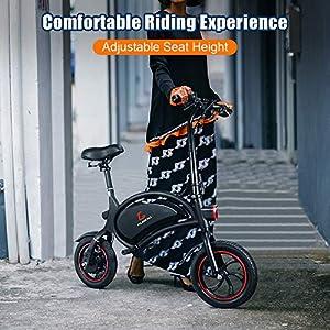 urbetter Vélo Électrique Pliable, Jusqu'à 25km/h, Batterie au Lithium 36V/250W, avec APP Contrôle, Pneus Pneumatiques 12″ Urban E-Bike Adulte Unisexe