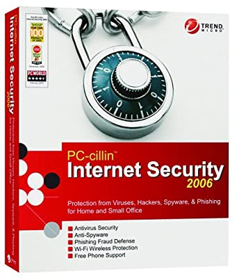PC-Cillin Internet Security 2006 [Old Version]