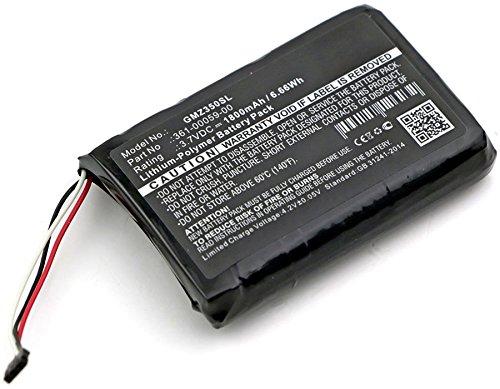 Pila reemplazo Garmin Zumo 350LM sustituci/ón subtel/® Bater/ía Premium Compatible con Garmin Zumo 350 Garmin 361-00059-00 bateria de Repuesto 1800mAh