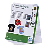 Amazingdeal 10pcs Laser Heat Transfer Paper Self Weeding Paper for T-Shirt Aprons Bags