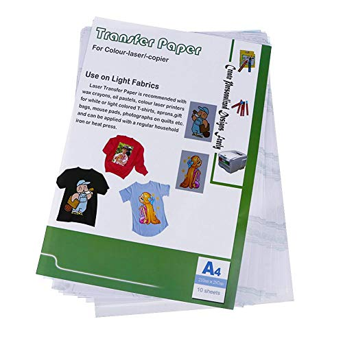 Amazingdeal 10pcs Laser Heat Transfer Paper Self Weeding for sale  Delivered anywhere in Canada