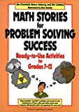 Math Stories for Problem Solving Success, James L. Overholt and Nancy Ashberg, 0876285701