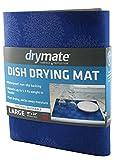 "#2: Drymate Dish Drying Mat, Premium XL - 19"" x 24"" - Kitchen Dish Drying Pad – Absorbent/Waterproof – Machine Washable"