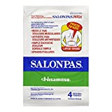 Salonpas Pain Relieving Patch Large, 4 Count