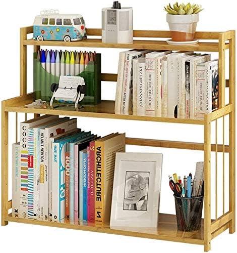 シンプルな本棚ブック雑貨フロアストレージは二階建て書棚ディスプレイスタンド本棚ラック(サイズ:40) zhaoyun (Size : 60)