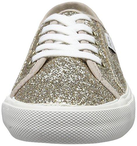 Pepe Jeans London Aberlady Flash, Zapatillas para Mujer Dorado (Gold)