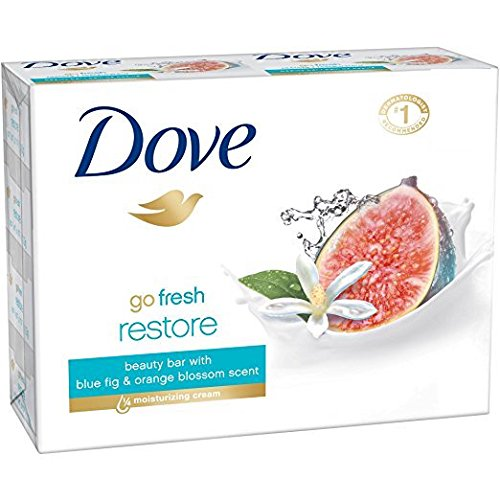 Dove Go Fresh Restore Beauty Bar Soap 100 Gr (Pack of 12)