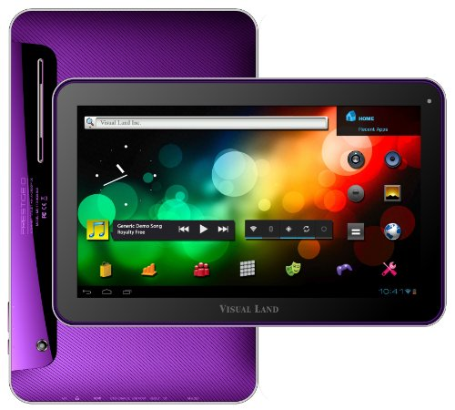 "Visual Land Prestige 10 - 10"" Single Core 16GB Android Tablet (Purple)"