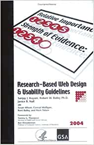 Research Based Web Design And Usability Guidelines