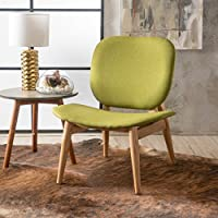 Owen Apple Fabric Accent Chair