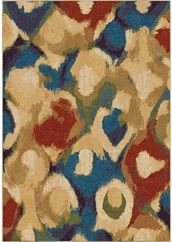 Orian Rugs Mardi Gras Foxglove Area Rug, 5 3 x 7 6 , Multicolor