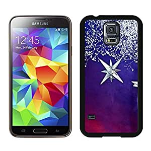 Individualization Merry Christmas Black Samsung Galaxy S5 Case 25