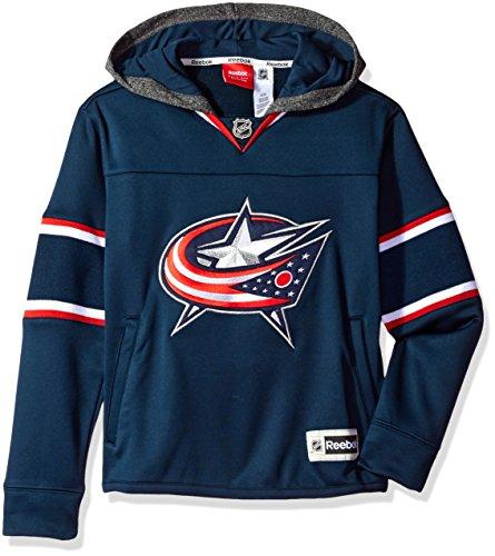 NHL Youth Boys 8-20 Bluejacket Faceoff Jersey Hood, L(14-16), True (Jersey Boy Wine)
