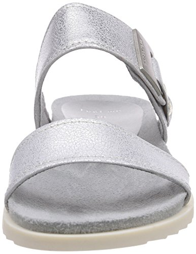 Silber femme Metal Silver Argent 27103 Marco Tozzi 926 pour Sandales Ox6qqwIHY