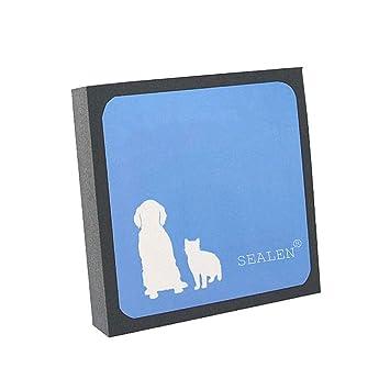 Limpiador de Cabello para Mascotas, Removedor de Pelusas y Pelusas Reutilizables para Perros Mascotas Gatos