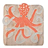 Sea Island Imports Ocean Hand Carved Acacia