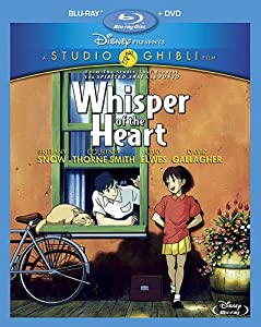 Cover Image for 'Whisper of the Heart (Two-Disc Blu-ray/DVD Combo)'