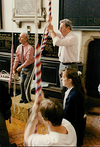 Vintage photo of Bell Ringers at St. Peter Mancroft.