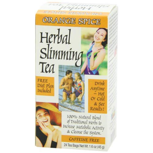 (21st Century Herbal Slimming Tea, Orange Spice 1.7 Ounce (Pack of 3))