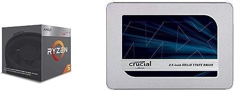 AMD Ryzen 5 2400G - Procesador con Radeon RX Vega11 Graphics + ...