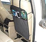Rückenlehnenschutz Sitzschoner Lehnenschutz Hecksitzschoner mit 3 Taschen