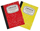 #8: Pallex 1 Subject Composition Notebook Wide Ruled 100 Sheet 2 Pack